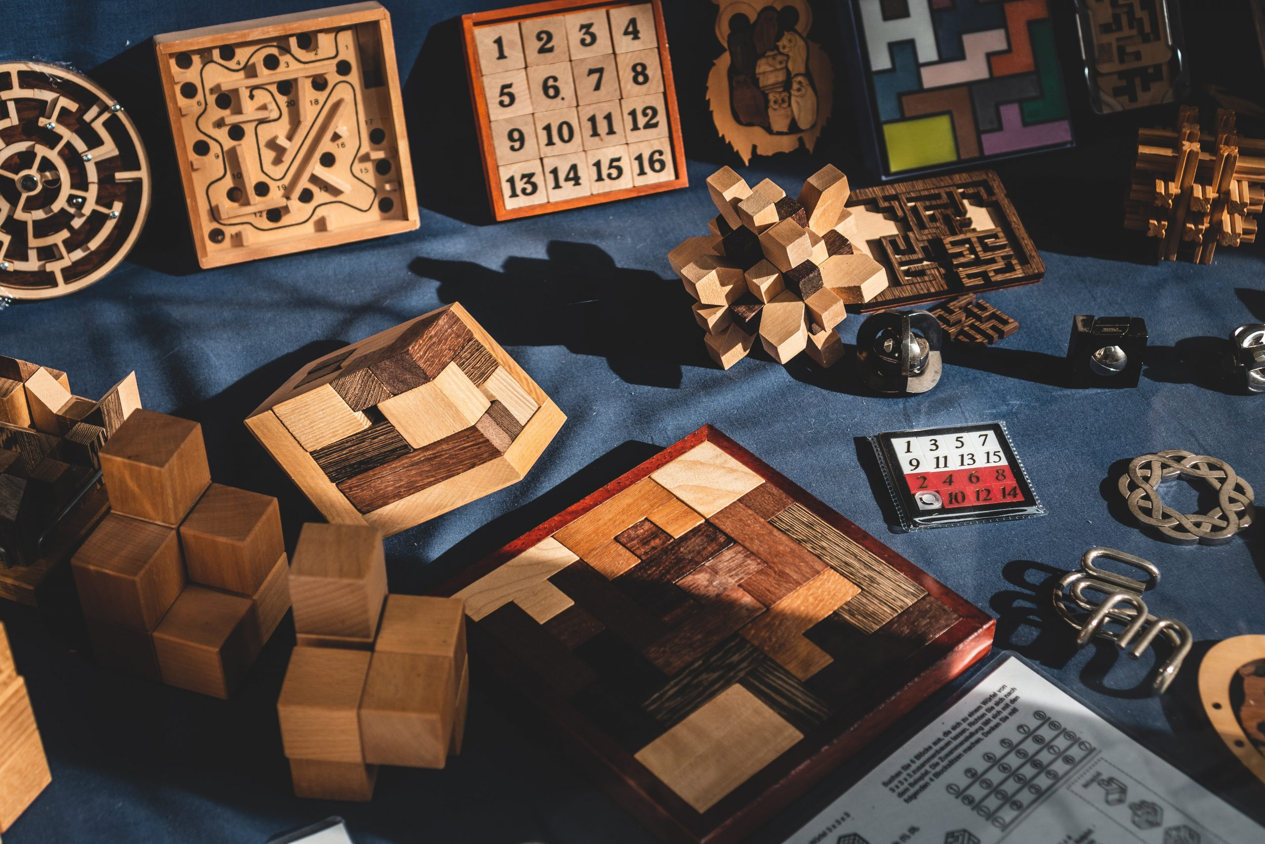 The Principles of Puzzle Design are as follows: